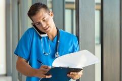 Περιοχή αποκομμάτων γραψίματος γιατρών Στοκ φωτογραφίες με δικαίωμα ελεύθερης χρήσης
