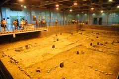 Περιοχή αρχαιολογίας της δυναστείας γεύσης σε Chengdu Στοκ εικόνες με δικαίωμα ελεύθερης χρήσης