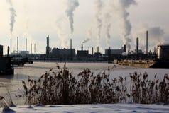 περιοχή βιομηχανική Στοκ φωτογραφία με δικαίωμα ελεύθερης χρήσης