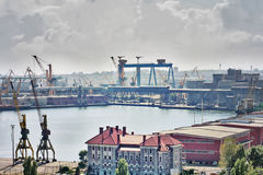 περιοχή βιομηχανική Στοκ φωτογραφίες με δικαίωμα ελεύθερης χρήσης