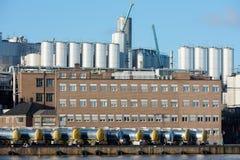 περιοχή βιομηχανική Στοκ εικόνα με δικαίωμα ελεύθερης χρήσης