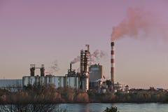 περιοχή βιομηχανική Στοκ Εικόνα