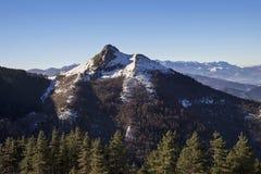 Περιοχή βουνών Txindoki Στοκ Φωτογραφία