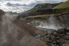 περιοχή γεωθερμική Ισλ&alpha Στοκ εικόνα με δικαίωμα ελεύθερης χρήσης