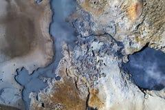 περιοχή γεωθερμική Στοκ Εικόνα