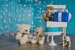 Περιοχή για τους βλαστούς φωτογραφιών για το μωρό στα πρώτα γενέθλια 9222 Στοκ Εικόνες
