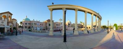 Περιοχή επιχειρήσεων και αγορών και ψυχαγωγίας του IL Mercato σε Hadaba, Sheikh Sharm EL, Αίγυπτος Στοκ Φωτογραφία