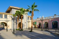 Περιοχή επιχειρήσεων και αγορών και ψυχαγωγίας του IL Mercato σε Hadaba, Sheikh Sharm EL, Αίγυπτος Στοκ Φωτογραφίες