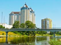 περιοχή Κίεβο κατοικημέν&o Στοκ φωτογραφία με δικαίωμα ελεύθερης χρήσης