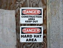 Περιοχή κατασκευής - κρατήστε έξω Στοκ εικόνα με δικαίωμα ελεύθερης χρήσης