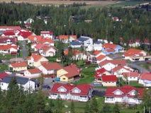 περιοχή κατοικημένη Στοκ Εικόνες
