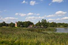 Περιοχή κατοικιών λιμνών Araisi Στοκ φωτογραφία με δικαίωμα ελεύθερης χρήσης
