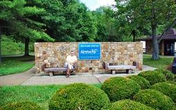 Περιοχή κεντρικού υπολοίπου επισκεπτών των κρατικών ΗΠΑ του Κεντάκυ στοκ εικόνα με δικαίωμα ελεύθερης χρήσης