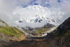Περιοχή κυκλωμάτων Annapurna Στοκ Φωτογραφία