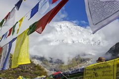 Περιοχή κυκλωμάτων Annapurna Στοκ φωτογραφίες με δικαίωμα ελεύθερης χρήσης