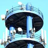 Περιοχή κυττάρων ή πύργος κυττάρων Στοκ εικόνα με δικαίωμα ελεύθερης χρήσης