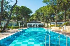 Περιοχή λιμνών στο ξενοδοχείο πολυτελείας, Beldibi, Τουρκία στοκ φωτογραφία με δικαίωμα ελεύθερης χρήσης