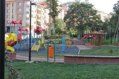 Περιοχή παιχνιδιού παιδιών στοκ εικόνες με δικαίωμα ελεύθερης χρήσης