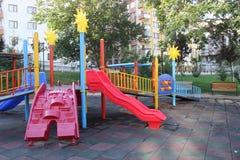 Περιοχή παιχνιδιού παιδιών στοκ φωτογραφία με δικαίωμα ελεύθερης χρήσης