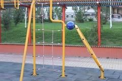 Περιοχή παιχνιδιού παιδιών στοκ φωτογραφίες με δικαίωμα ελεύθερης χρήσης