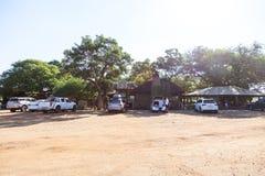Περιοχή πικ-νίκ Tshokwane στο πάρκο Kruger, Νότια Αφρική στοκ εικόνες με δικαίωμα ελεύθερης χρήσης
