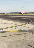 Περιοχή προσγείωσης Στοκ εικόνα με δικαίωμα ελεύθερης χρήσης