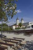 Περιοχή προσκυνήματος της εκκλησίας Αγίου James σε Medjogorje Στοκ Φωτογραφίες