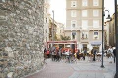 Περιοχή πύργων Galata στη Ιστανμπούλ Στοκ Φωτογραφίες