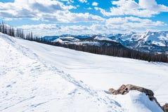 Περιοχή σκι Wolf Creek Στοκ Εικόνες