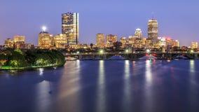 περιοχή στο κέντρο της πόλης οικονομική Μασαχουσέτη ΗΠΑ της Βοστώνης στοκ φωτογραφία με δικαίωμα ελεύθερης χρήσης
