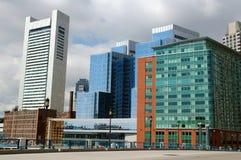 περιοχή της Βοστώνης finnacial Στοκ Φωτογραφίες