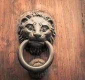 περιοχή της Ισπανίας λιονταριών ρόπτρων πορτών της Ανδαλουσίας antequera Στοκ εικόνες με δικαίωμα ελεύθερης χρήσης