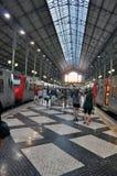Περιοχή της Λισσαβώνας, σταθμός τρένου Στοκ φωτογραφία με δικαίωμα ελεύθερης χρήσης