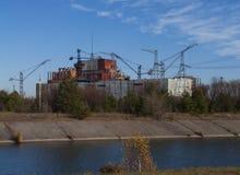 περιοχή της Ουκρανίας ισχύος πυρηνικών εγκαταστάσεων μνημείων μνήμης του Κίεβου καταστροφής του Τσέρνομπιλ Στοκ εικόνες με δικαίωμα ελεύθερης χρήσης