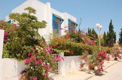 Περιοχή τουριστών καλοκαιριού στην Τυνησία Στοκ Φωτογραφίες