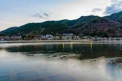 Περιοχή τουριστών του Κιότο Ιαπωνία Arashiyama Στοκ Φωτογραφία