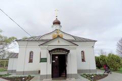 Περιοχή του Βλαντιμίρ, της Ρωσίας - 6 Μαΐου 2018 μεσολάβηση εκκλησιών nerl στοκ εικόνες