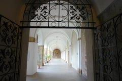 Περιοχή του κτηρίου μονών, μοναστήρι Strahov, Πράγα Στοκ εικόνα με δικαίωμα ελεύθερης χρήσης
