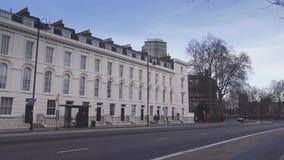 Περιοχή του Λονδίνου Millbank απόθεμα βίντεο