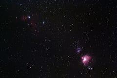 Περιοχή του Orion Στοκ Φωτογραφία