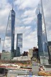 Περιοχή του World Trade Center - πόλη της Νέας Υόρκης Στοκ Εικόνα