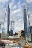 Περιοχή του World Trade Center - πόλη της Νέας Υόρκης Στοκ φωτογραφία με δικαίωμα ελεύθερης χρήσης