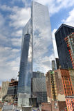 Περιοχή του World Trade Center - πόλη της Νέας Υόρκης Στοκ εικόνες με δικαίωμα ελεύθερης χρήσης