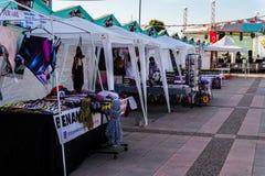Περιοχή φεστιβάλ Ramadan στην πόλη Yalova - Τουρκία Στοκ εικόνα με δικαίωμα ελεύθερης χρήσης