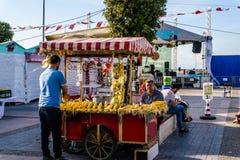 Περιοχή φεστιβάλ Ramadan στην πόλη Yalova - Τουρκία Στοκ Εικόνα