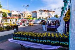 Περιοχή φεστιβάλ Ramadan στην πόλη Yalova - Τουρκία Στοκ Φωτογραφίες