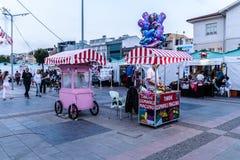 Περιοχή φεστιβάλ Ramadan στην πόλη Yalova - Τουρκία Στοκ Φωτογραφία