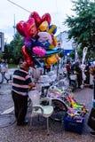 Περιοχή φεστιβάλ Ramadan στην πόλη Yalova - Τουρκία Στοκ φωτογραφία με δικαίωμα ελεύθερης χρήσης