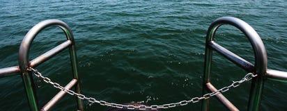 Περιοχή φόρτωσης ενός σκάφους Στοκ Εικόνες