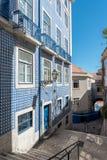 Περιοχή Alfama στη Λισσαβώνα, Πορτογαλία Στοκ εικόνες με δικαίωμα ελεύθερης χρήσης